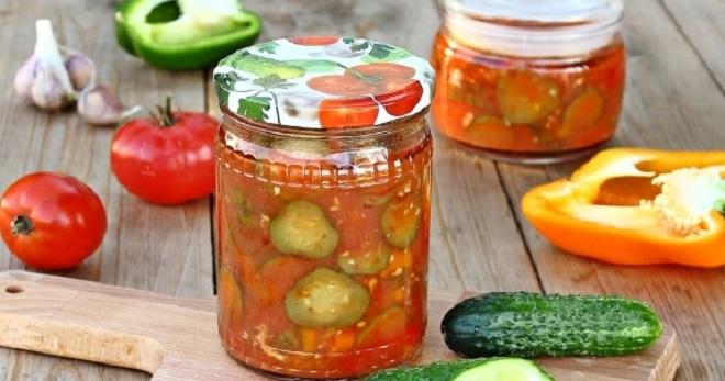 лечо з кабачків рецепт томатний сок