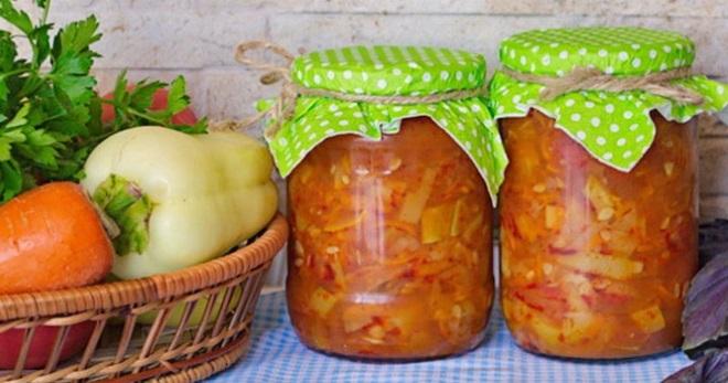 рецепт салата с огурцами и карри на зиму