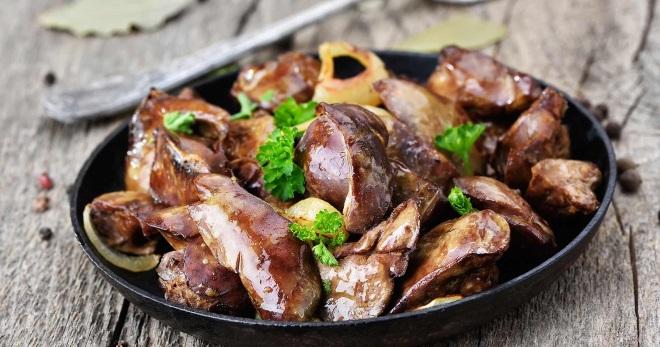 Рецепты приготовления блюд куриной печени жареные грибы лисички рецепты приготовления с фото