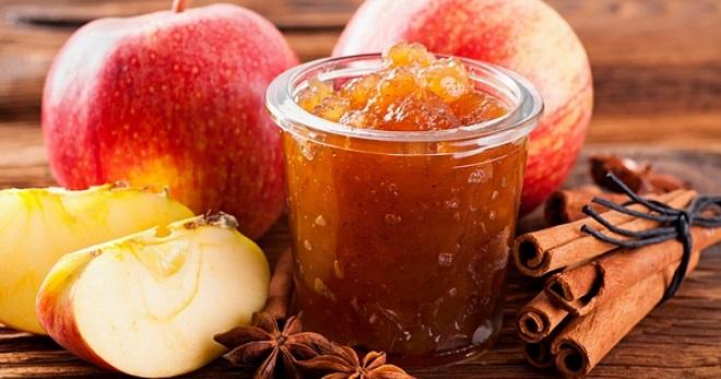 Как сварить джем из яблок на зиму без сахара — рецепт приготовления