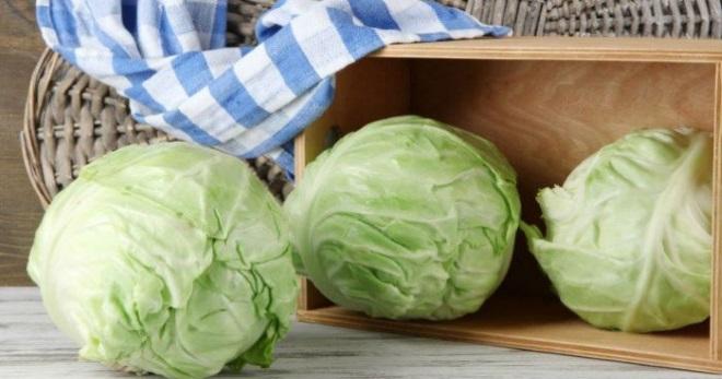 Храним капусту в пищевой пленке