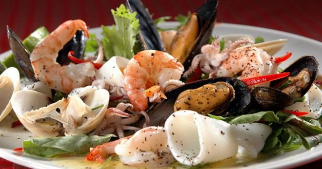 Как приготовить морепродукты морской коктейль к пиву