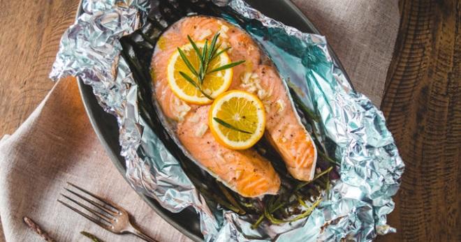 простой рецепт рыбы в фольге в аэрогриле
