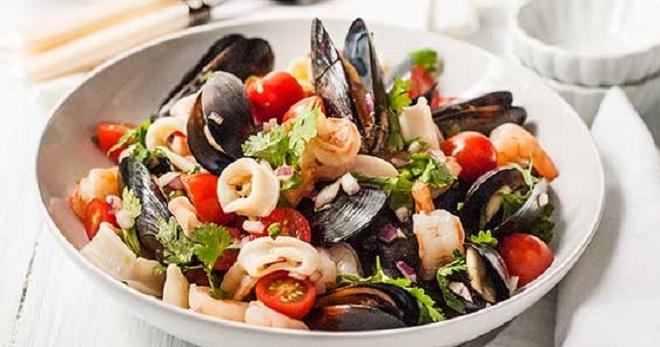 морские салаты рецепты с фото