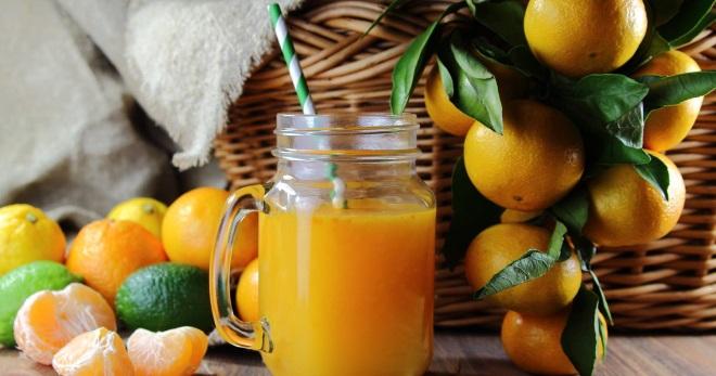 Мандариновый сок - польза, вред и лучшие способы изготовления вкусного напитка