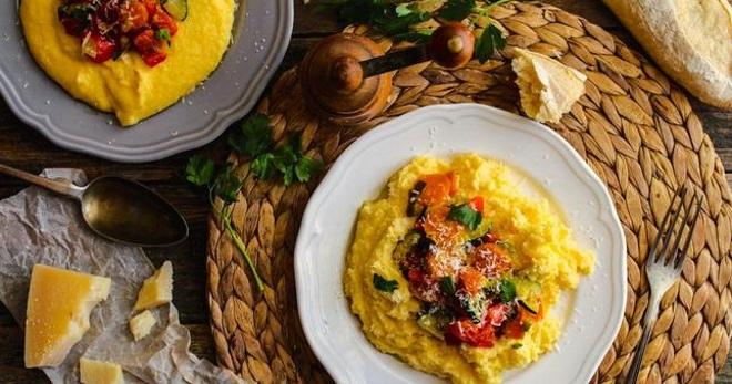 Полента - рецепт классического блюда и оригинальные варианты с добавками