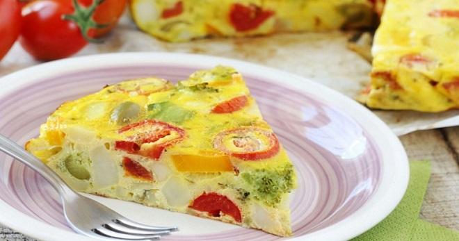 Фриттата - рецепт вкуснейшего итальянского блюда с разными дополнениями
