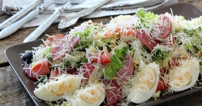 Рецепты простые салаты из капусты