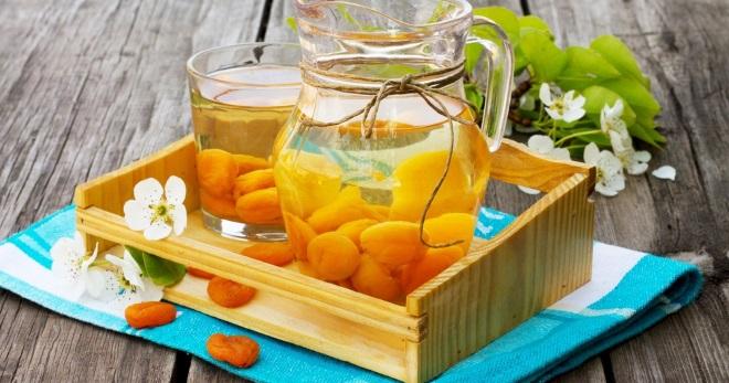 Компот из кураги, изюма и чернослива - рецепт пошаговый с фото