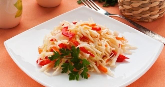 Как приготовить капусту провансаль в домашних условиях