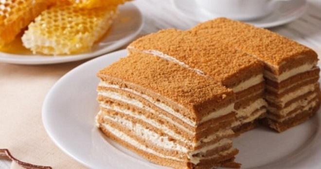 Крем для медового торта - рецепты сметанного, заварного на молоке крема для медовика в домашних условиях
