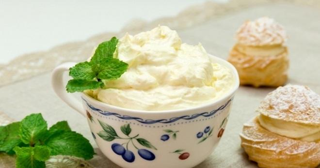 заварной крем рецепт на молоке фото рецепт