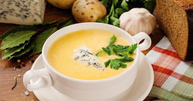 рецепты приготовления сырного супа с шампиньонами в мультиварке