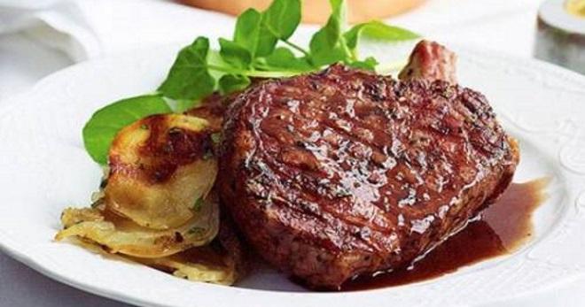 Антрекот в духовке - восхитительно вкусное блюдо из разных видов мяса