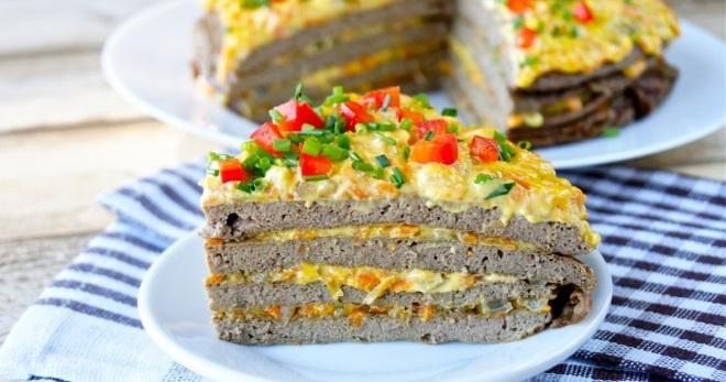 печеночный торт рецепт правильного питания