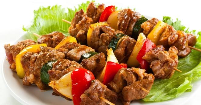 Шашлык из свинины на шпажках в духовке - оригинальные идеи приготовления блюда «с дымком»
