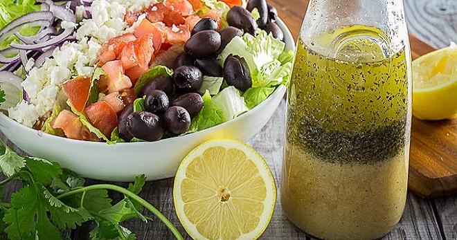 Заправка для греческий салат классический рецепт