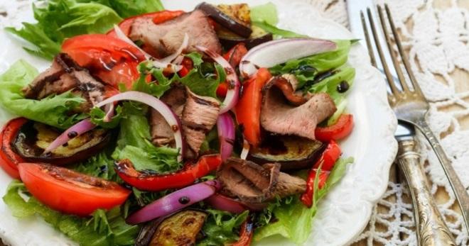 Салат рецепт говядина с перцем — 3