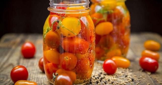 маринованные помидоры на зиму с медом