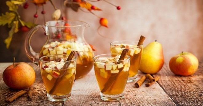 Компот из груш и яблок на зиму - лучшая заготовка-ассорти для всей семьи!