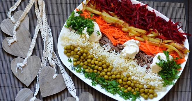 Салат Радуга – ассорти из фруктов: рецепт с фото и видео