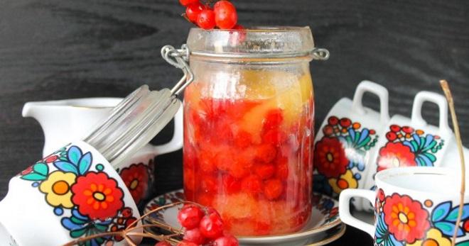 Как приготовить калину на зиму с медом