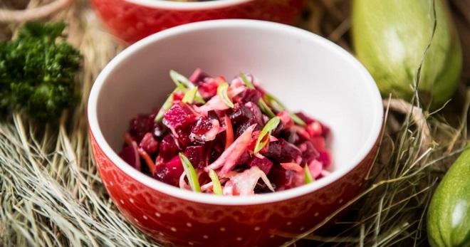 Винегрет с квашеной капустой - самые вкусные рецепты любимого салата