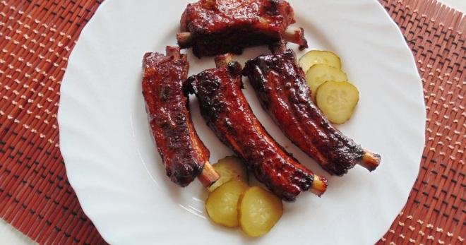 Ребрышки свиные с томатной пастой в мультиварке — pic 3