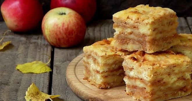 Насыпной пирог с яблоками – вкуснейшее лакомство из простых продуктов!