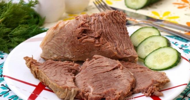 Вареная говядина - рецепт пошаговый с фото