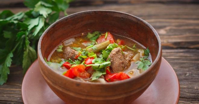 Бозбаш из баранины - классические и новые рецепты вкусного наваристого блюда