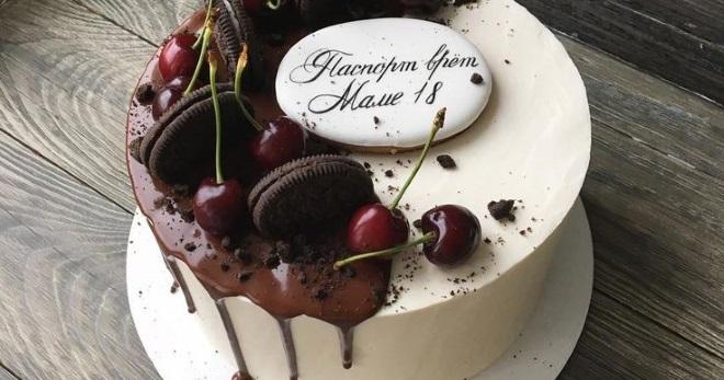 Торт для мамы – вкусные и невероятно красивые идеи для десерта