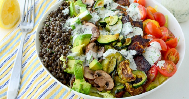 Вкусные салаты для праздника и на каждый день с самыми простыми рецептами