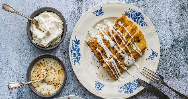 Блинчики с творогом - необычайно вкусное тесто и лучшая начинка для любимого блюда!