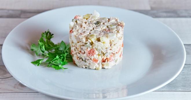 Салат «Столичный» - классические и обновленные рецепты любимой закуски
