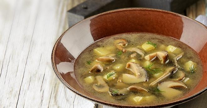 Грибной суп из шампиньонов с картофелем - сытное наваристое блюдо на каждый день