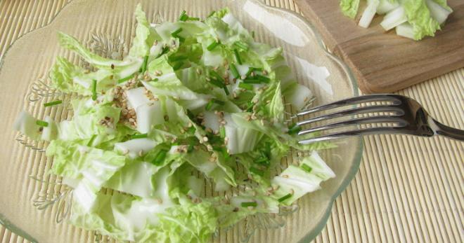 Самые вкусные салаты из пекинской капусты по простым и оригинальным рецептам