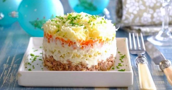 Классический салат «Мимоза» - вкусные рецепты знаменитой закуски