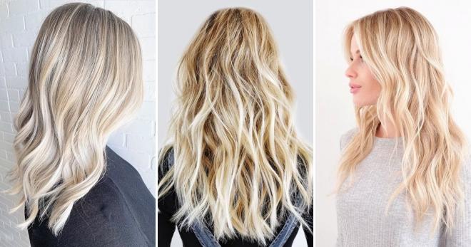 Теплый блонд - топовые идеи модного окрашивания
