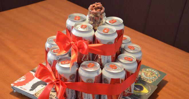 Торт из пива - оригинальная идея подарка