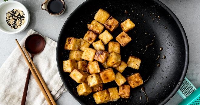 Как приготовить тофу на завтрак или для быстрого перекуса?