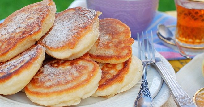 Оладьи - рецепты сладкого блюда и закусочного