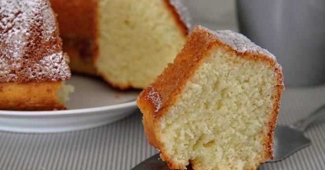 Пышный нежный кекс на кефире в духовке - аппетитное лакомство к чаю