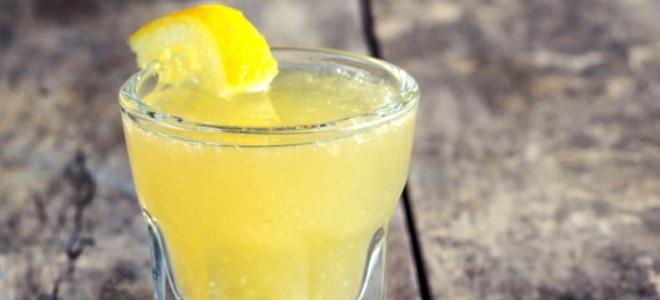 Бананово-лимонный ликер без яиц – рецепт