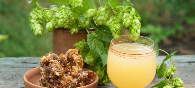 безалкогольная медовуха рецепт