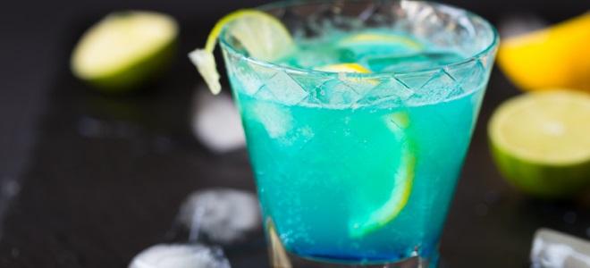 безалкогольный коктейль голубая лагуна рецепт