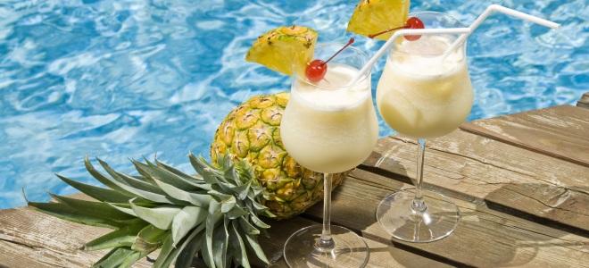 безалкогольный коктейль «Пина колада»