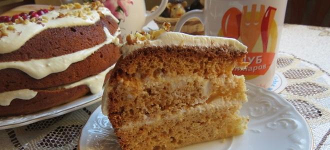 торт медовик в мультиварке простой рецепт