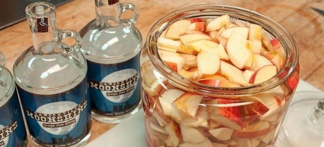брага из яблок для самогона рецепт
