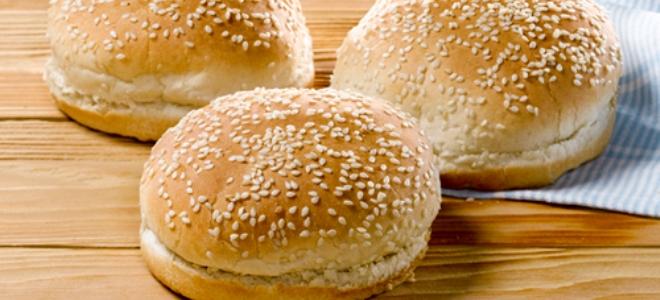 как приготовить булочки для гамбургиров